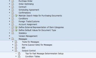 如何实现采购订单发送提醒,催促信(Reminder, dunning ME91F)