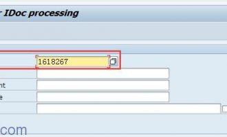 如何从其他系统导入测试IDOC文件-WE19