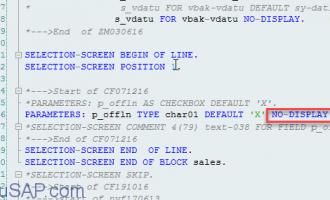 [问题解决]parameter默认值无效