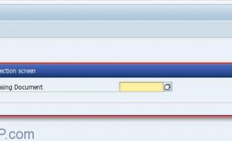 选择屏幕-SELECTION-SCREEN(一)