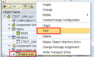 Web Dynpro for ABAP 简单SELECT OPTIONS实例