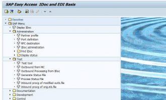 SAP IDOC 开发入门