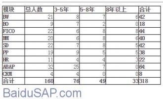 国内SAP自由顾问的价格行情及IBM开出的薪资