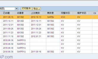 Web Dynpro for ABAP 简单ALV实例