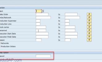 [代码]REUSE_ALV_GRID_DISPLAY_LVC-选择画面中添加ALV布局控制字段