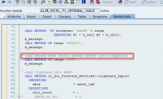 [问题解决]大数据量上载excel文件数据到SAP系统[ALSM_EXCEL_TO_INTERNAL_TABLE]