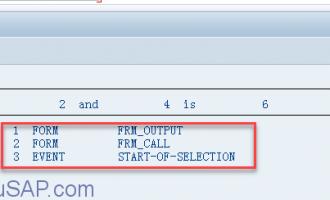 如何获取ABAP程序执行的调用堆栈 [SYSTEM_CALLSTACK]
