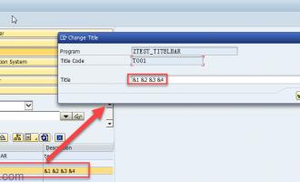 动态设置GUI标题(title bar)