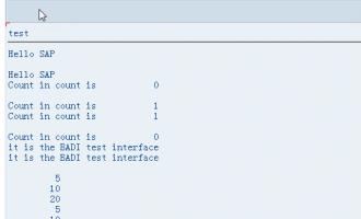 ABAP面向对象(Object Orientation)编程7- 类的接口(interface)