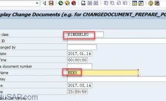 查看更改历史(cdpos和cdhdr)报表-RSSCD1TS