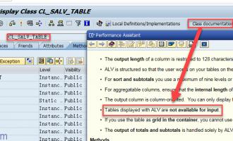 SALV教程20-单元格可编辑