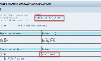 将日期转化换为任意格式[FORMAT_DATE_4_OUTPUT]
