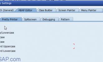 ABAP代码规范