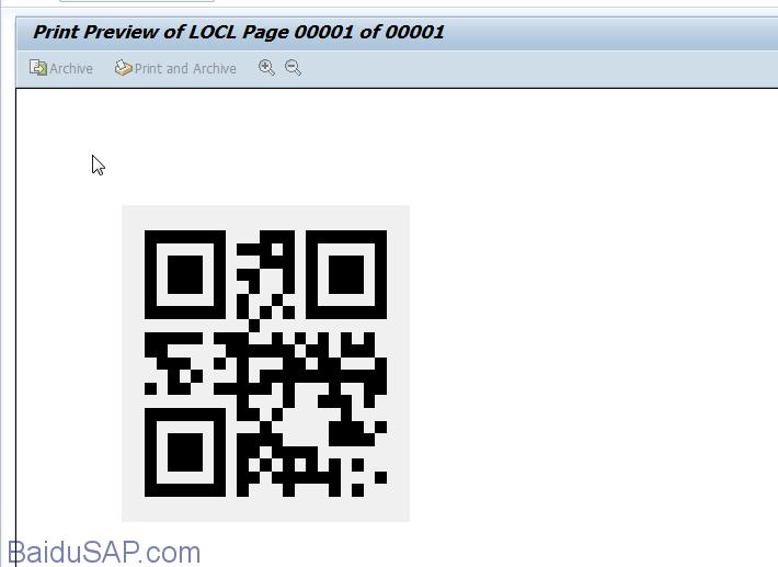 代码]ABAP生成二维码(QR Code)例子  摆渡SAP