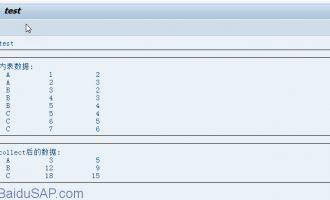 在loop中Collect语句的使用方法及实例