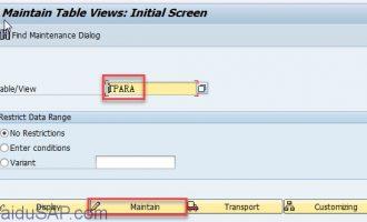 SAP中如何创建parameter ID