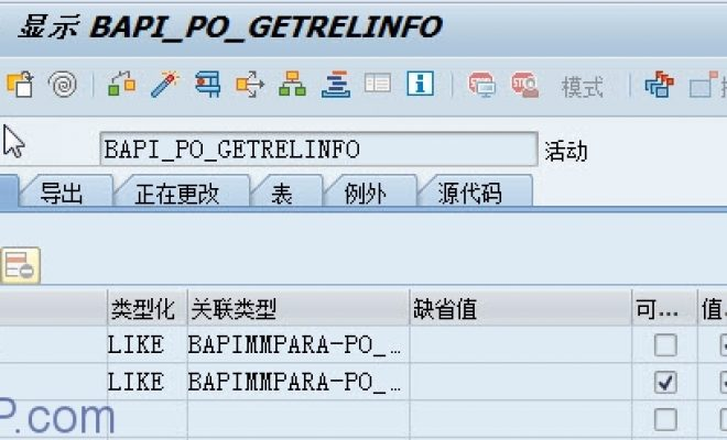 [BAPI]如何读取采购订单PO审批状态数据-[BAPI_PO_GETRELINFO]