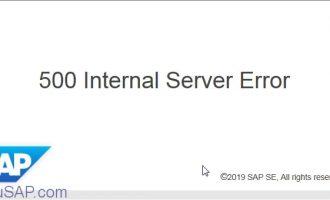 [问题解决]webdynpro:500 Internal Server Error问题分析与解决