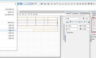 Adobe form中如何给格子加框