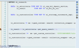 [CRM]类CL_CRM_BOL_ENTITY中的数据结构以及查看