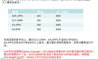 SAP离散行业解决包40位物料激活简介
