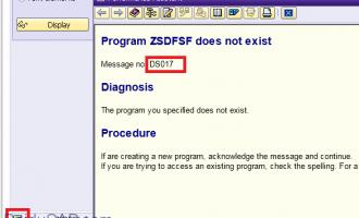 如何根据错误消息定位出错的ABAP程序
